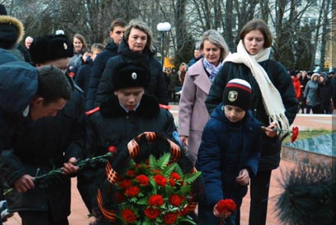 Торжественное мероприятие, посвященное освобождению Курганинского района от немецко-фашистских захватчиков